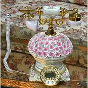 薔薇の電話機336