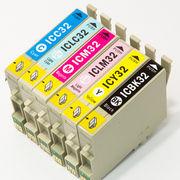 エプソン[EPSON]互換インクカートリッジ IC32系(IC6CL32) 6色