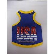 犬の洋服 タンクトップ USAロゴ柄 サイズ S・M・L・XL