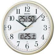 【新品取寄せ品】セイコークロック 電波掛時計 KX384S