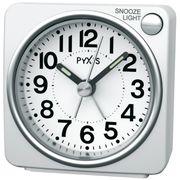 【新品取寄せ品】セイコークロック 目覚まし時計 NR437W