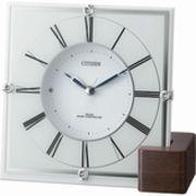【新品取寄せ品】シチズン電波置時計「マリアージュ707」4RY707-003