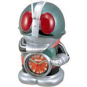 【新品取寄せ品】リズム時計製 目覚まし時計 「仮面ライダー」 4SE502RH05