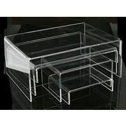 【ディスプレイ展示用品  スタンド台】幅広く使える頼もしいアイテムです!5サイズ セット販売