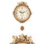 ゴールデンエンジェルラウンド振り子時計B