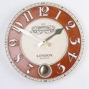 チェルシーラウンドホール掛け時計/インテリア 掛け時計