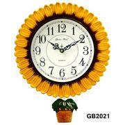 サンフラワー 振り子時計