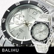 【Bel Air collection】★マルチファンクション メンズ腕時計 DP7-L【BALIHU】