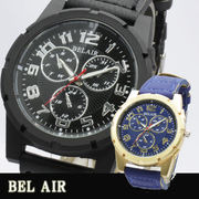 【Bel Air Collection 】★圧倒的な重厚感 ビッグフェイス メンズ 腕時計 XX6★