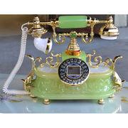 大理石電話機:バロン:グリーン