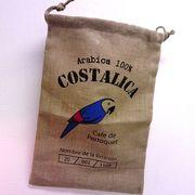 ジュート コーヒービーンポーチ COSTALICA(S)