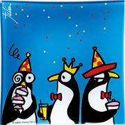 ジュリアン・チャン Animal  king  グラストレー 「ペンギン・パーティー」