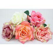 シングルローズ バラ 造花 アーティフィシャルフラワー