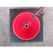 紅釉 24cm 小
