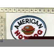 輸入ワッペン American Hot Dog ホットドッグ