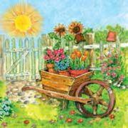 Daisy  ペーパーナプキン 太陽・フラワー・庭