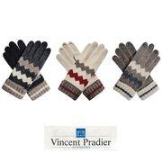 Vincent Pradier ボーダー 手袋