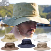 UVカット帽子 - メンズ ハット -  クリケット ハット 5カラー サイズ:55/57/59/61/63cm