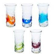 【大人気の琉球ガラス】暑い夏にぴったり!でこ一口ビアグラス