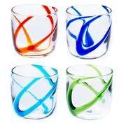 【大人気の琉球ガラス】暑い夏にぴったり!涼風(しらかじ)ロックグラス