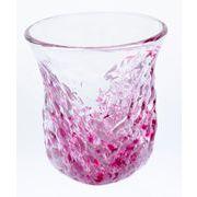 【大人気の琉球ガラス】暑い夏にぴったり!陽桜三角でこぼこグラス