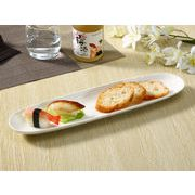 【強化】 さんま皿(15.5号)  長皿/焼き魚皿/寿司皿/すし皿/おうちカフェ/白食器