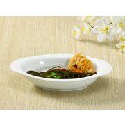 【強化】 広縁楕円皿(9号)   ドリア皿/カレー皿/パスタ皿/白食器