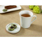 【強化】 蓋付マグカップ (320ml)   白い/コーヒー/紅茶/ジュース/牛乳/カフェオレ/
