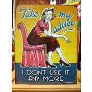 アメリカンブリキ看板 私からのアドバイス