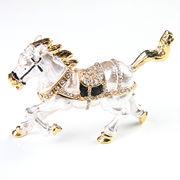 馬の置物 宝石箱  ジュエリーボックス 【ホース】