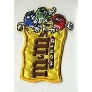輸入ワッペン M&M's チョコレート