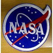 輸入ワッペン NASA章 丸