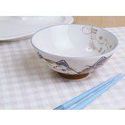 【内&外からコンニチワ】 のぞき見ネコちゃん 特盛お茶碗
