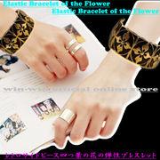 人気モデル☆レトロなクロスデザインの四つ葉の花の弾性ブレスレット