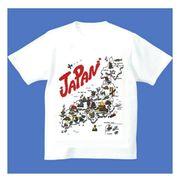 FJK 日本 お土産 Tシャツ 浮世絵 Sサイズ (ホワイト)No.5-S