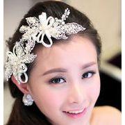 【ティアラ ウェディング 】 ブライダル アクセサリ ジュエリー髪飾りカチューシャお姫様風