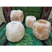 ヒマラヤピンクソルト岩塩 キャンドルホルダー