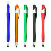 スマホタッチペン! ボールペンとタッチペンが一つに! 5色カラー 名入れ可能!