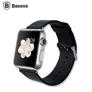 高級カーフレザーベルト 12サイズ変更時計バンド ストラップ for Apple Watch アップルウォッチ ブラック