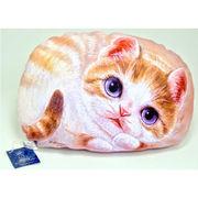 【HenryCats&Friends】ヘンリーキャット ネコ型クッション 小 ミーゴ インテリア 猫 ねこ 雑貨