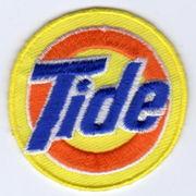 ワッペン Tide(タイド).