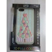 【iPhone5 対応】DFD iphoneケース 3Dフルカラー ツヤありの光沢ある仕上がり マロンタワー ゴージャス