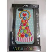 【iPhone5 対応】DFD iphoneケース 3Dフルカラー ツヤありの光沢ある仕上がり マロンタワー TOY