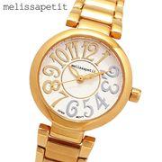 正規品【melissapetit メリッサプティ】コンビカラーインデックス・レディース腕時計[全3色] MPSR02G