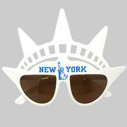 ファニーグラス NEW YORK 【 仮装 コスプレ サングラス 面白サングラス 】