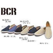 39%OFF!【BCR】 BC-460 メッシュ キャンバス スリッポン 全6色 メンズ