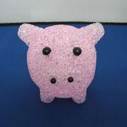 YSVS ぶた型LEDランプ ピンク A110924-6498-03-PK