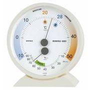 《日本製》【クールビズ・ウォームビズの省エネ温度表示】環境管理温・湿度計「省エネさん」