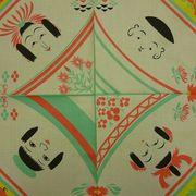 【東京オリンピック応援外国人お土産】むす美風呂敷。 日本製