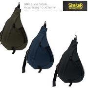 【定番】SHELTER カラーゴム ワンショル バッグ
